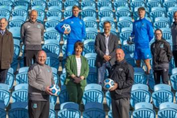 Northern Regional College 'Teams up' with Ballymena United FC