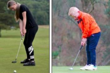Local golfing duo win USKids Irish Open titles!
