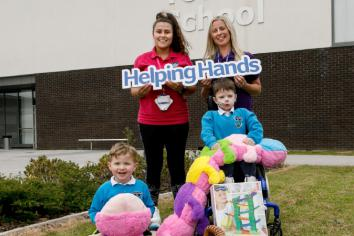 Castle Tower School's £300 Community Grant from Power NI