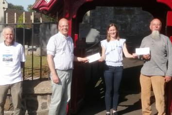 Slemish Climb - Canon Lloyd deeply grateful for support