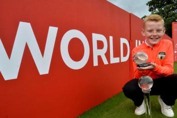 World title success for Ballymena's top young golfer Parker Bonnes!