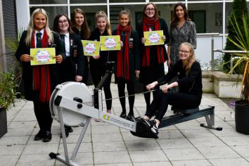 Cambridge House pupils rowing length of Ireland for 'Cash for Kids'