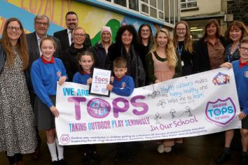 Ballymena Primary School coming out TOPS