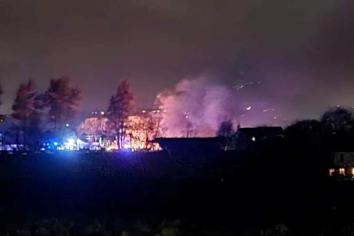 Cars deliberately torched say police