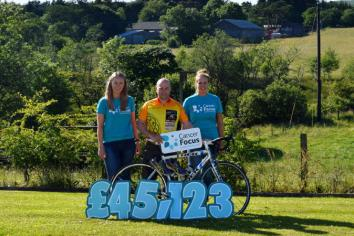 FROG success takes leap to £45,123 for Cancer Focus
