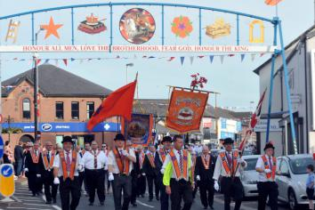 Your easy guide to the Twelfth demonstrations across the area