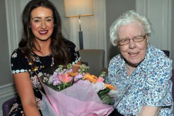 Mighty Maud celebrates 109th birthday in style