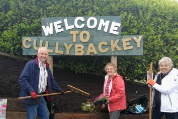 Getting Cullybackey ready for bloom season!