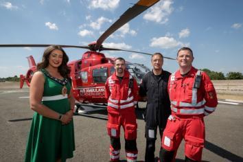 Mayors charity named as Air Ambulance NI