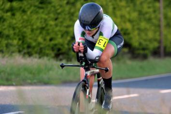 Eileen wins 'famous five Time Trial