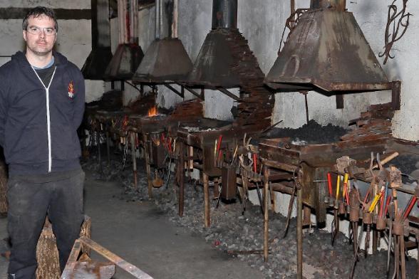 Forging ahead in revival of blacksmithing arts