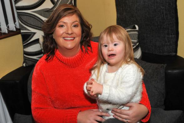 New Year, new heart for Dunvale tot Ellie