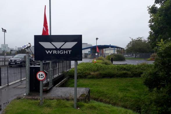 Wrightbus redundancy update given in letter to MP - possible pre-Christmas payments?