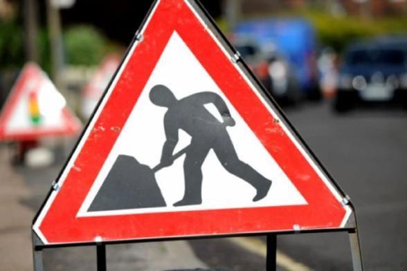 Moorfields Roadworks begin